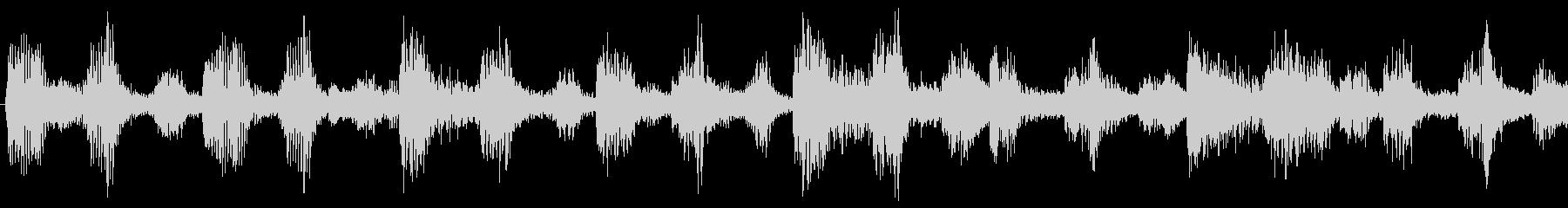 爽やかな朝に聞くBGM-ループ2の未再生の波形