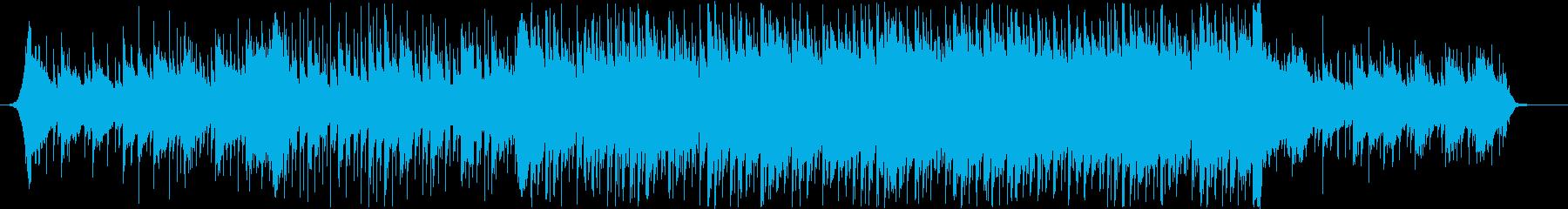 爽やか躍動感ピアノフルートコーポレートBの再生済みの波形