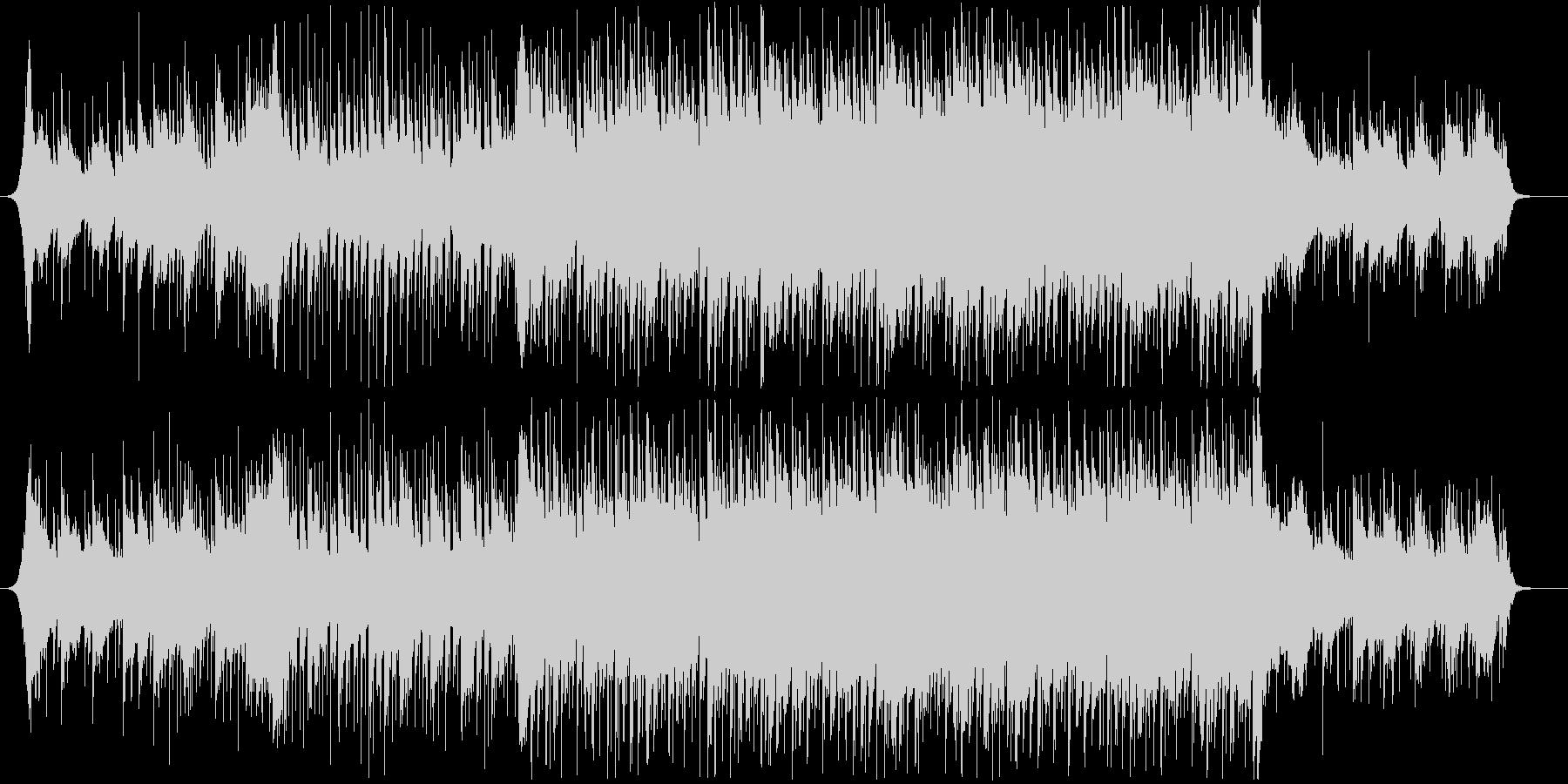 爽やか躍動感ピアノフルートコーポレートBの未再生の波形