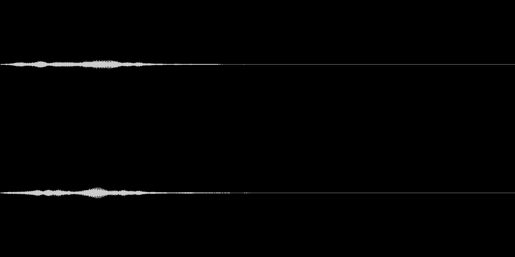 キラキラ系 魔法 ジングルの未再生の波形