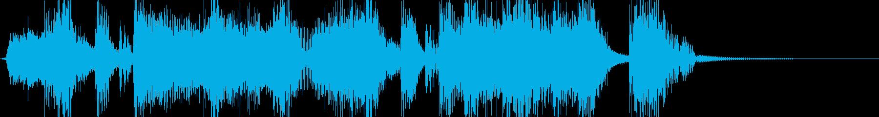 筋肉隆々 マッスルなヒップホップジングルの再生済みの波形