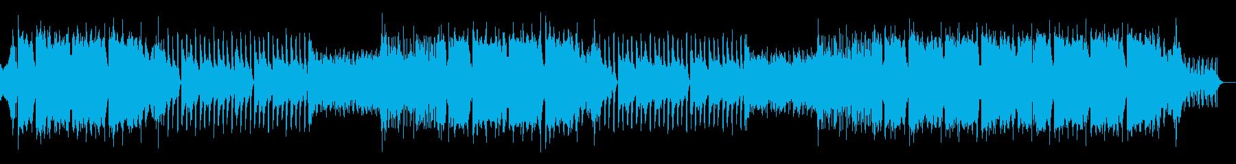 ダブステップ・透明感・美しいエンディングの再生済みの波形