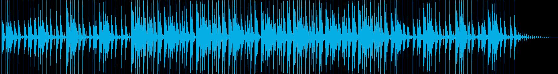 サバンナを思わせるシンセトラックの再生済みの波形