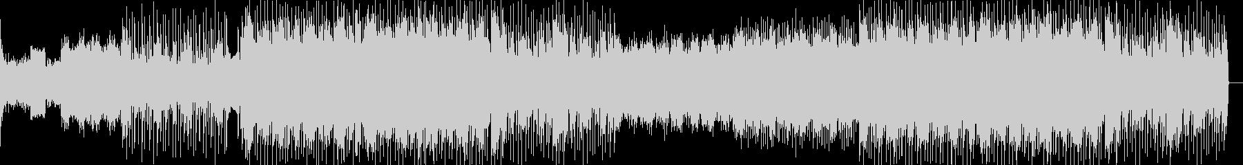 切ないローファイヒップホップの未再生の波形