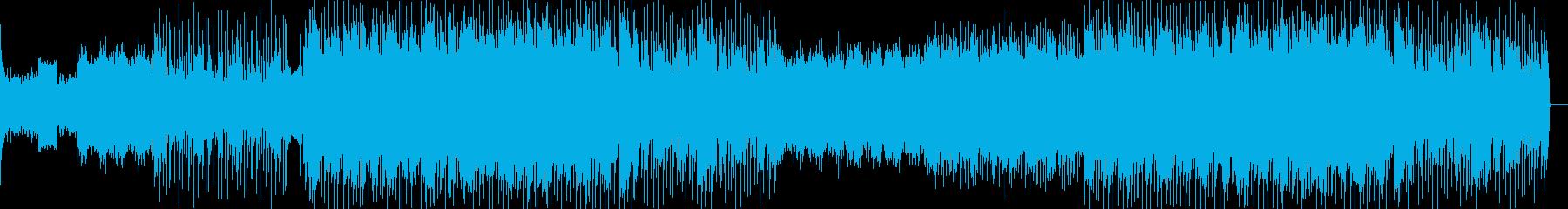 切ないローファイヒップホップの再生済みの波形