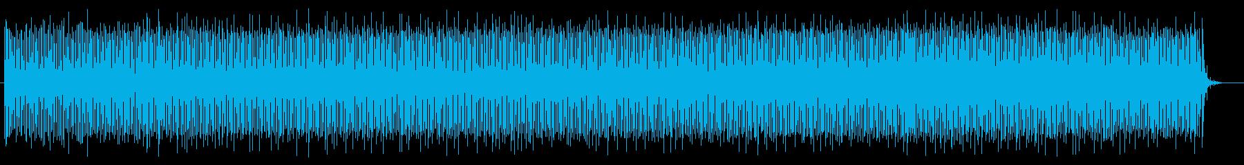 和やかで穏やかなシンセポップスの再生済みの波形