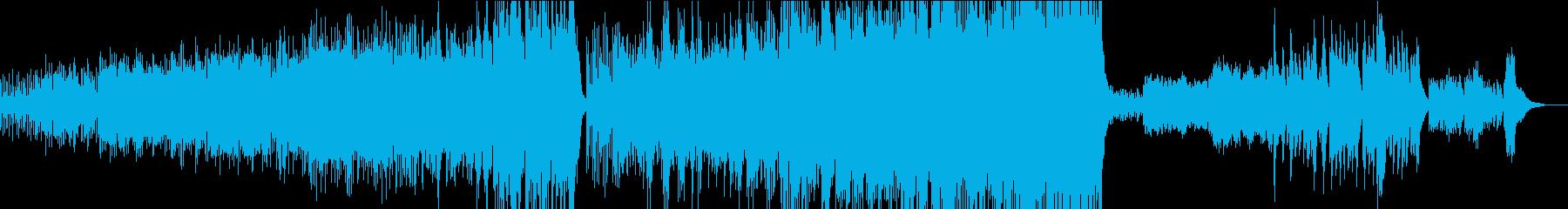 渓流のように爽やかな室内楽風プログレの再生済みの波形