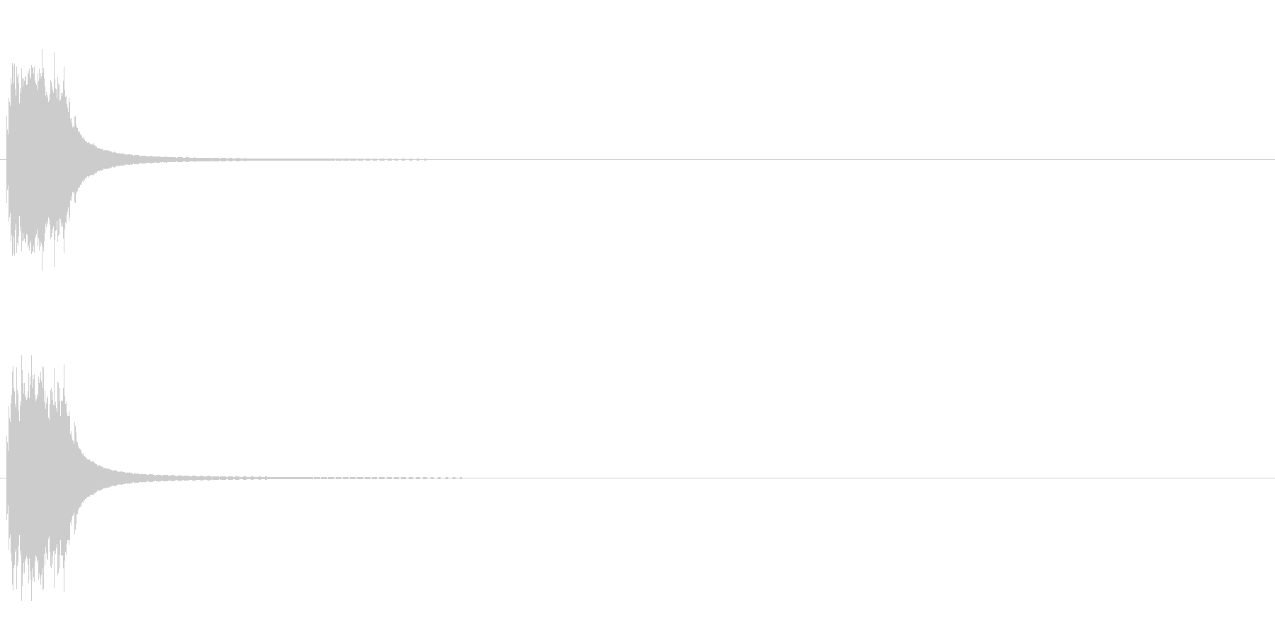 ツイストノブ付きアンティークドアベ...の未再生の波形