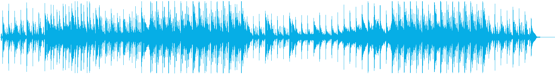 牧歌的で幸せな暮らし-オーケストラ-北欧の再生済みの波形