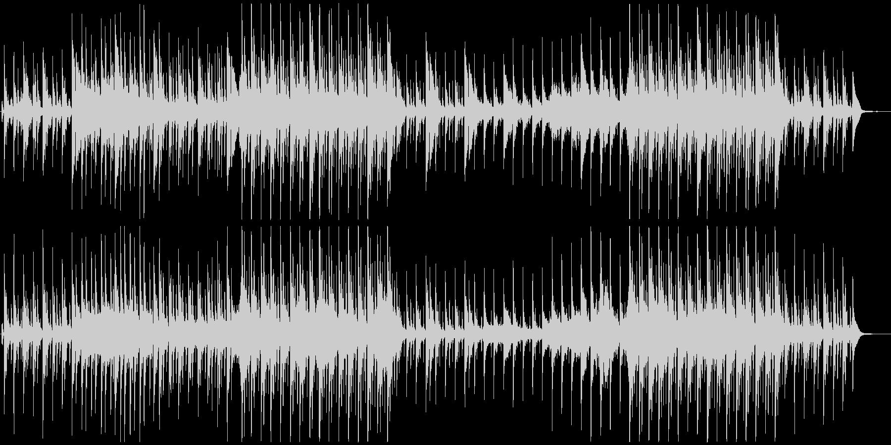 牧歌的で幸せな暮らし-オーケストラ-北欧の未再生の波形