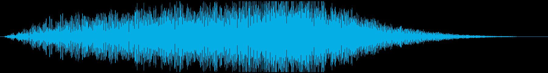 SWELL ゴロゴロうねり01の再生済みの波形