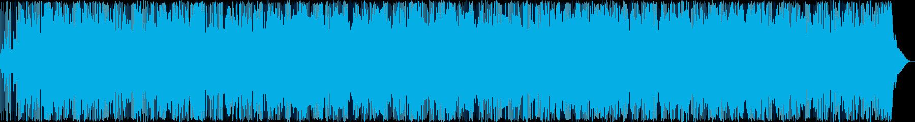 疾走感のあるカントリーミュージックの再生済みの波形