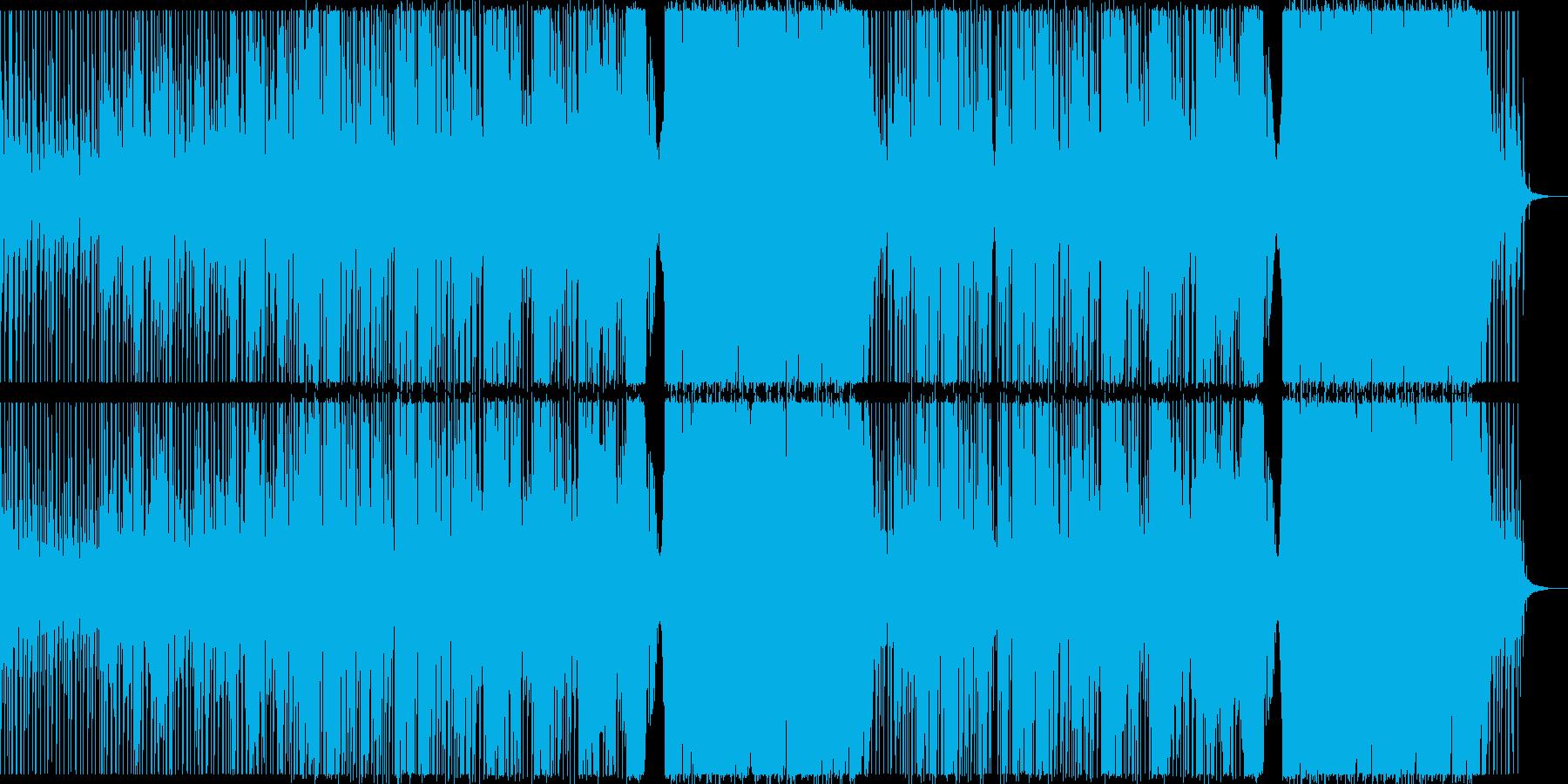 おしゃれでロマンチックなEDMの再生済みの波形