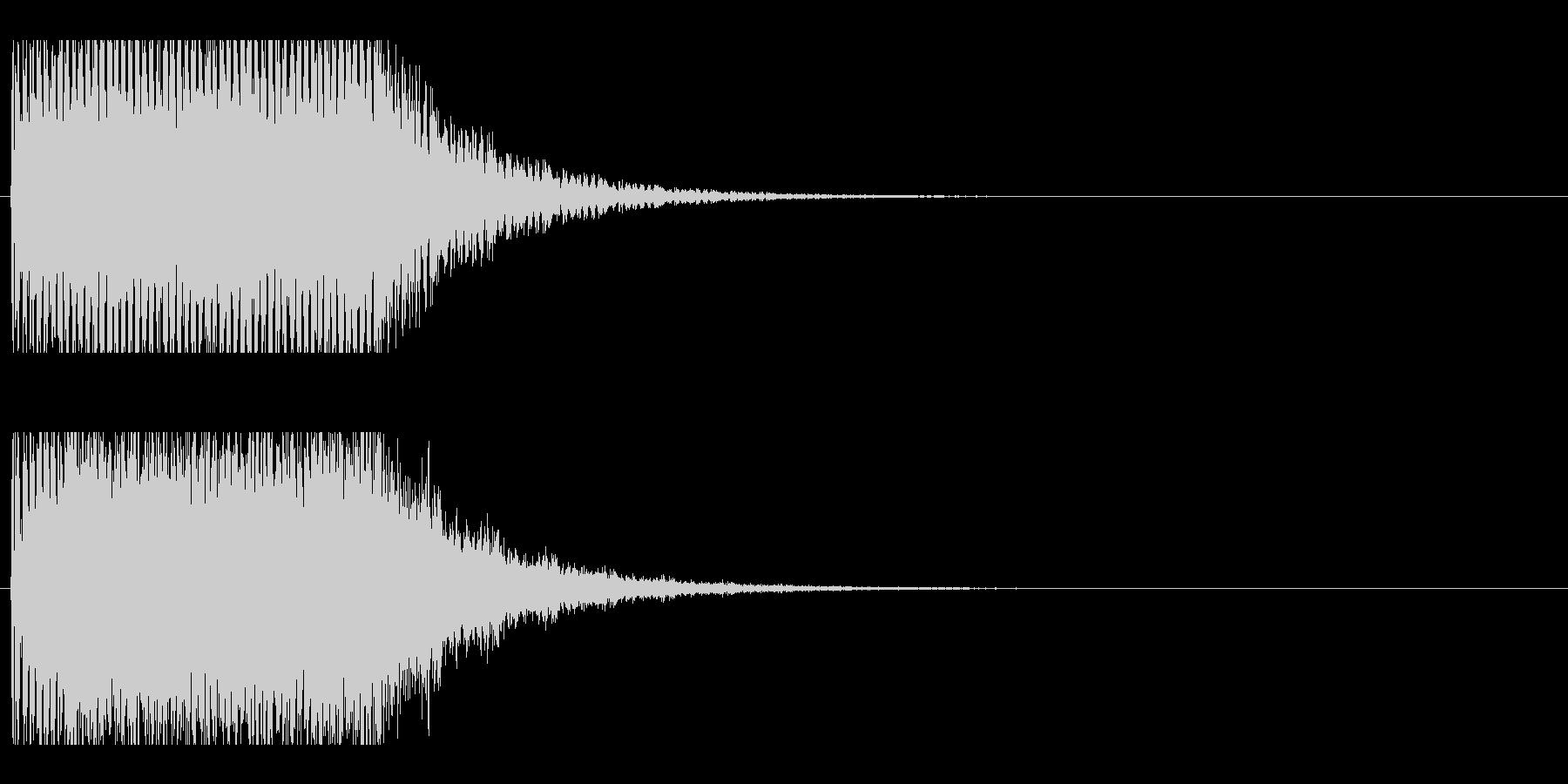 レーザー音-153-2の未再生の波形