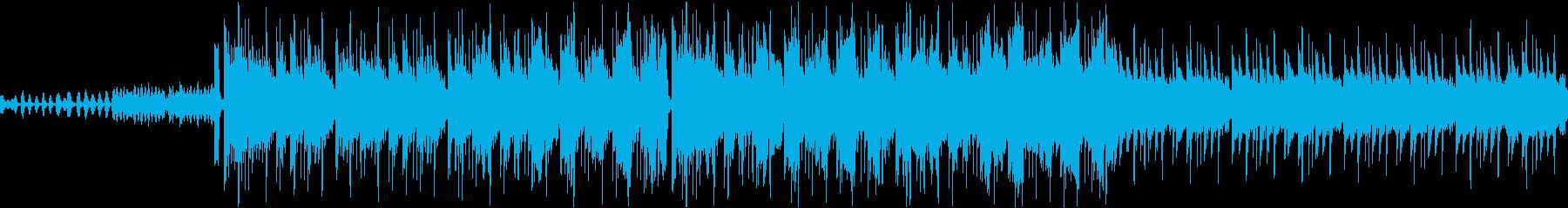 ホラー 恐怖 幽霊 [ループ]の再生済みの波形