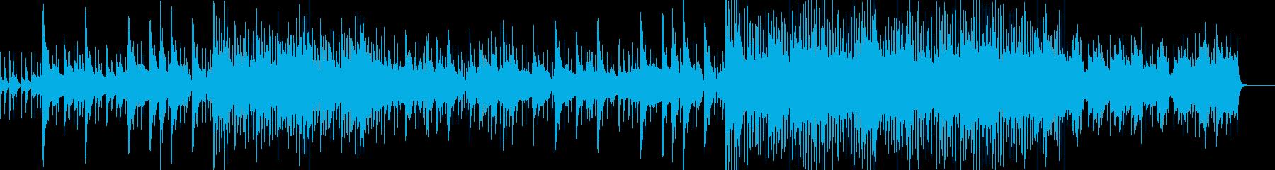 癒:清浄で安全な場所の曲の再生済みの波形
