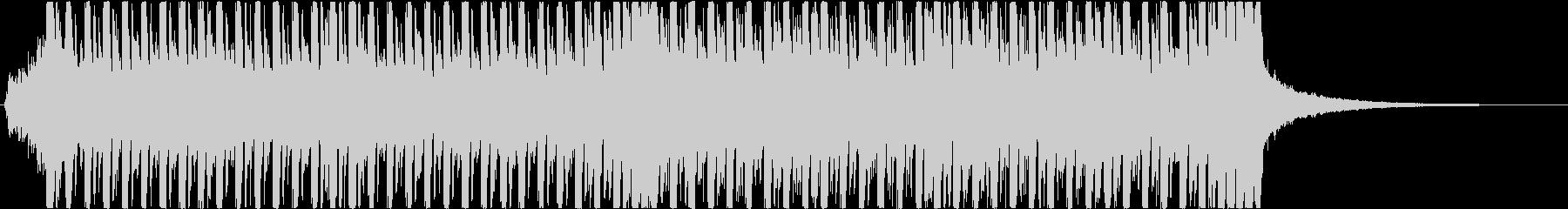 繰り返されるピアノが印象的な戦闘BGMの未再生の波形
