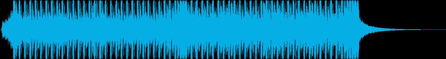 繰り返されるピアノが印象的な戦闘BGMの再生済みの波形