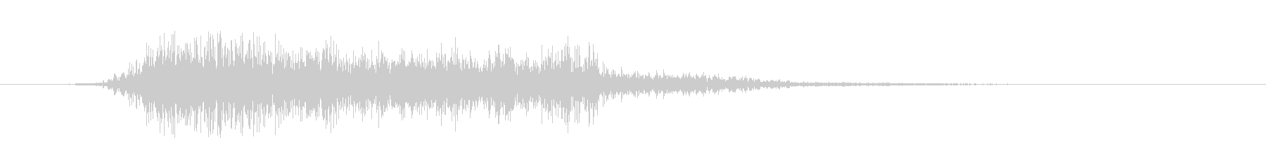 攻撃ドローン:ファイアタグダーツの未再生の波形
