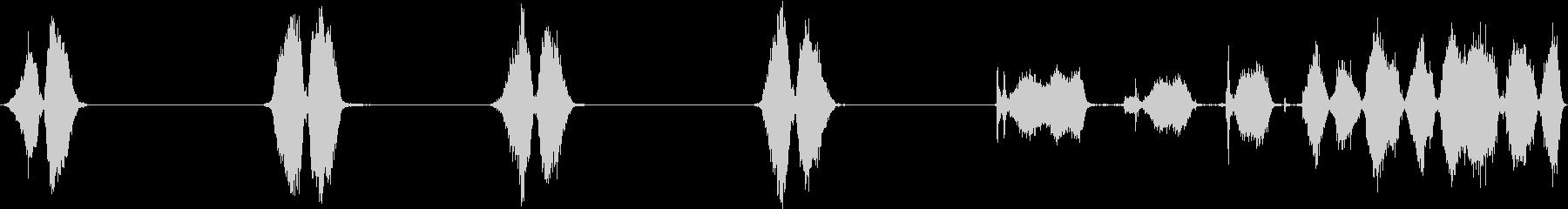 スクラブフロア、スクラブブラシ、2...の未再生の波形