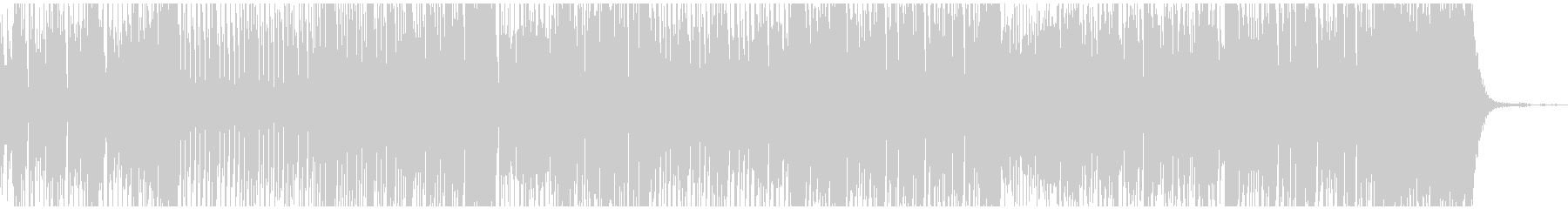 スタイリッシュ の未再生の波形