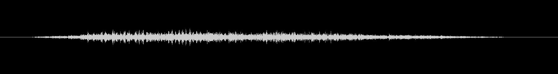 ゾンビ うめき声アイドルスロート11の未再生の波形