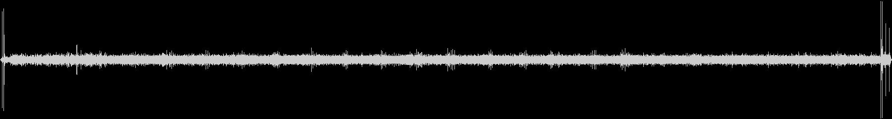 ビンテージシカゴワイヤーレコーダー...の未再生の波形