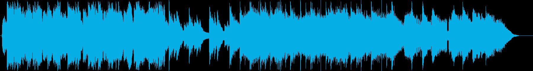 和風テイストのインストの再生済みの波形