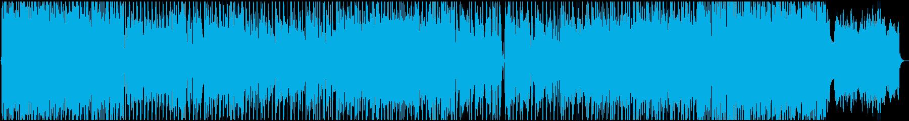 Pop BGM that feels awkward's reproduced waveform