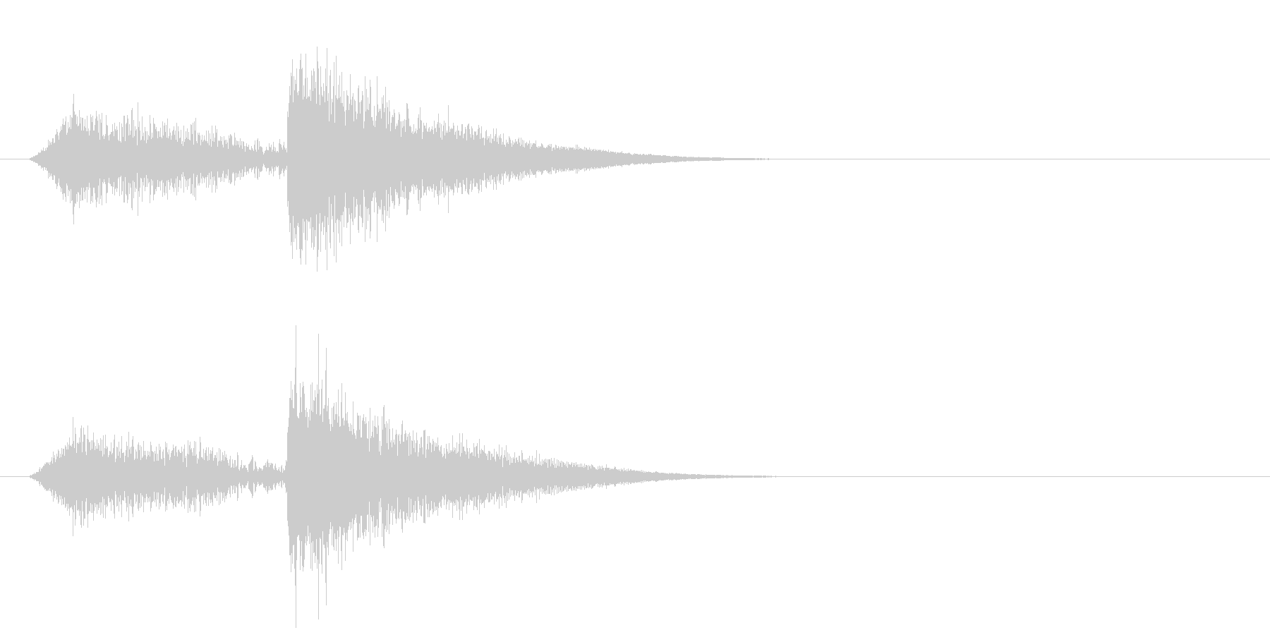 ヒュー・メタリック・クラング、リバ...の未再生の波形