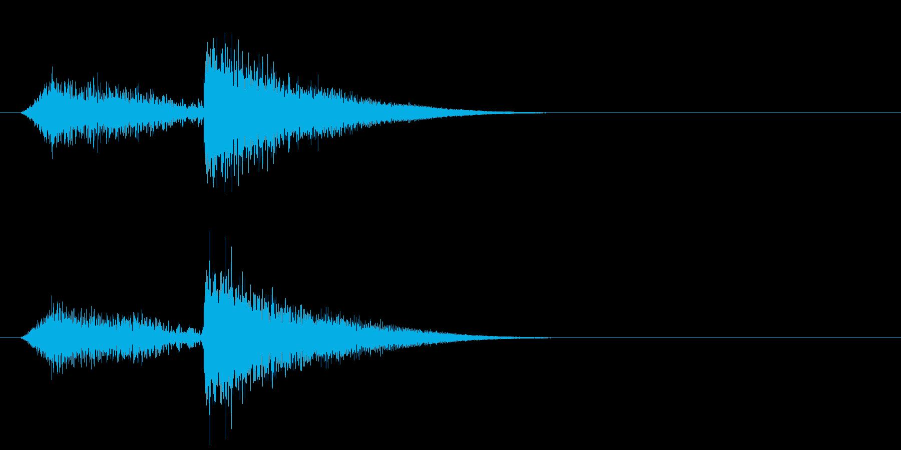 ヒュー・メタリック・クラング、リバ...の再生済みの波形