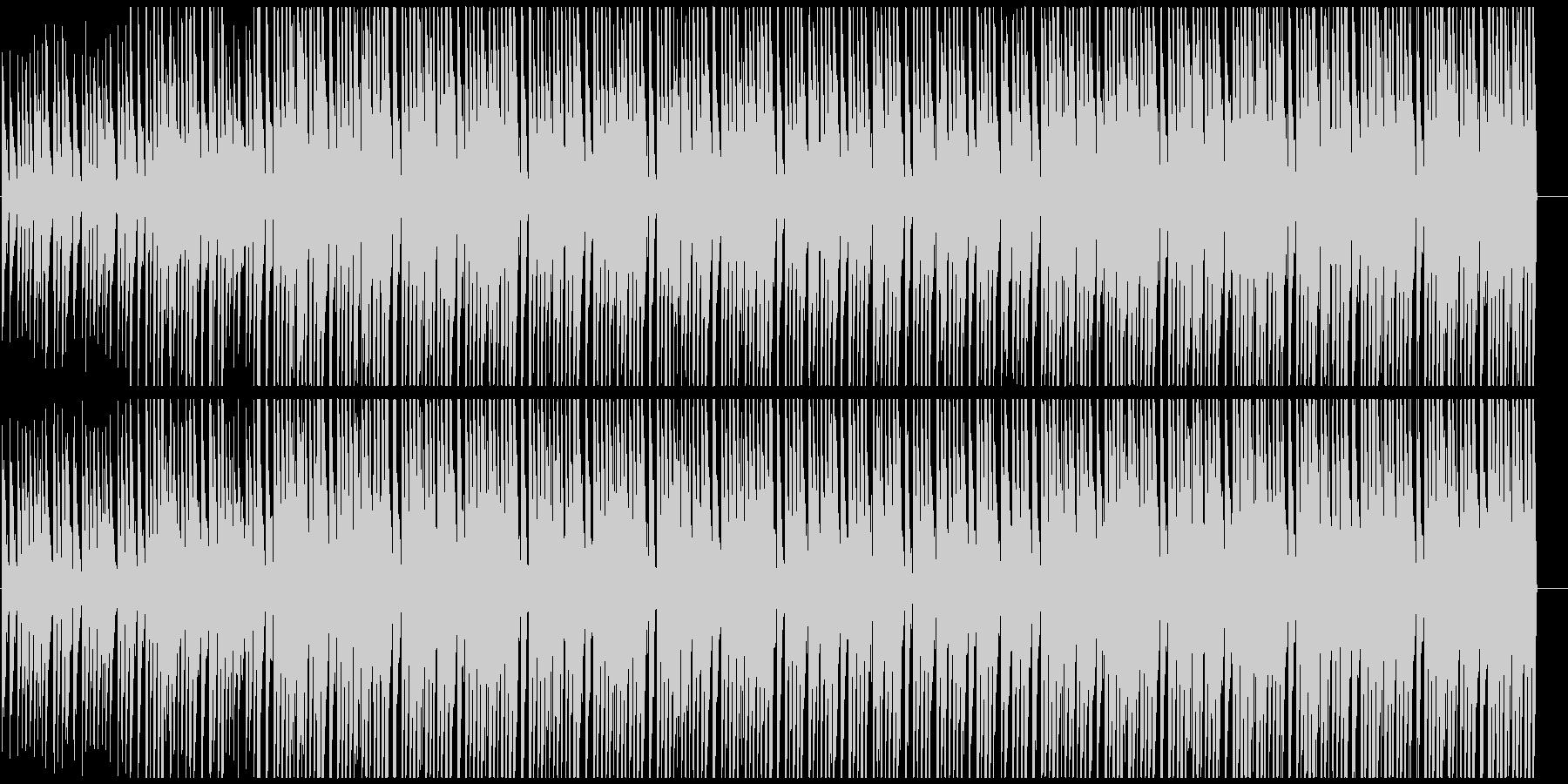 キラキラアフロビート トロピカルハウスの未再生の波形