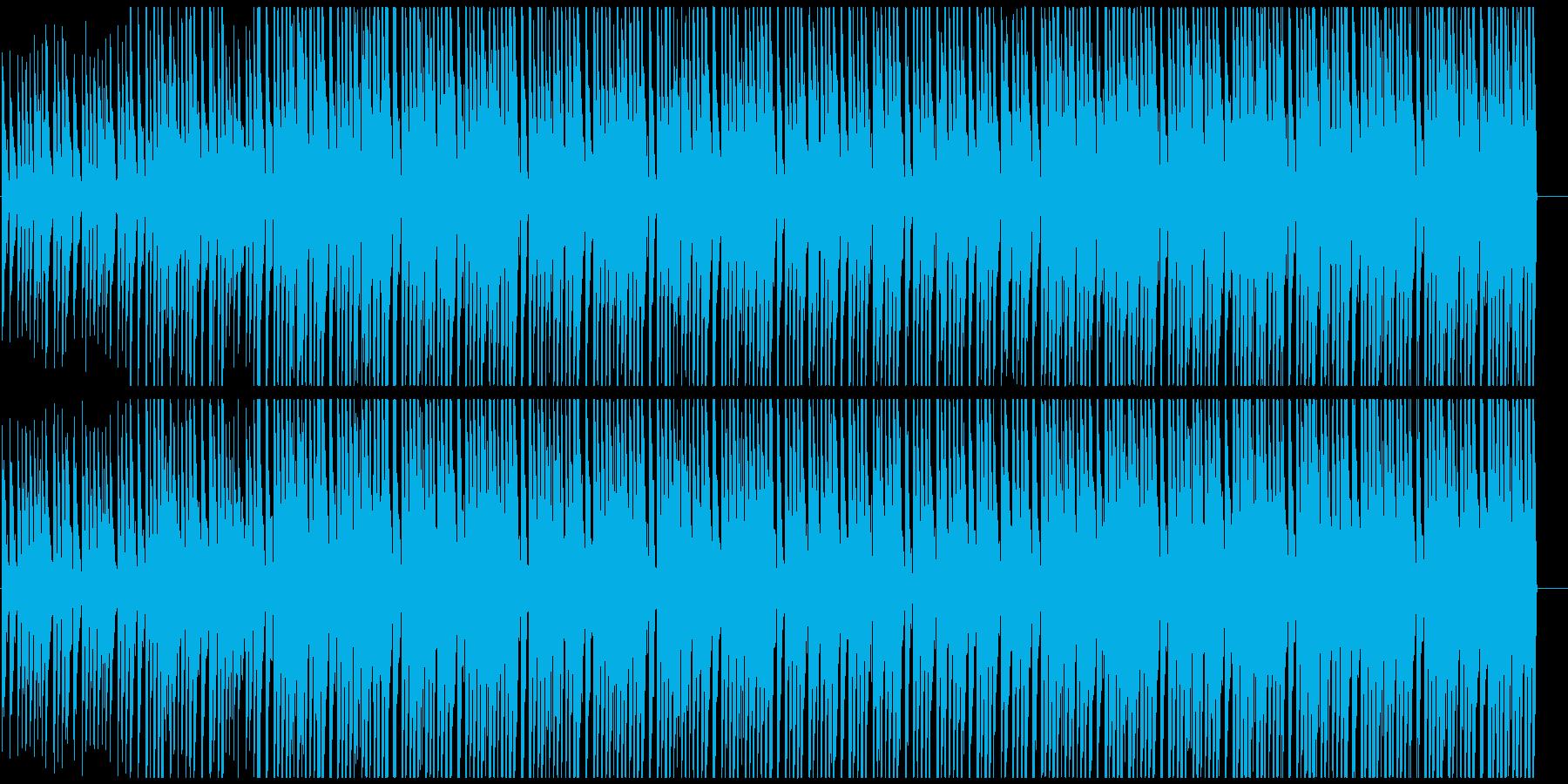キラキラアフロビート トロピカルハウスの再生済みの波形