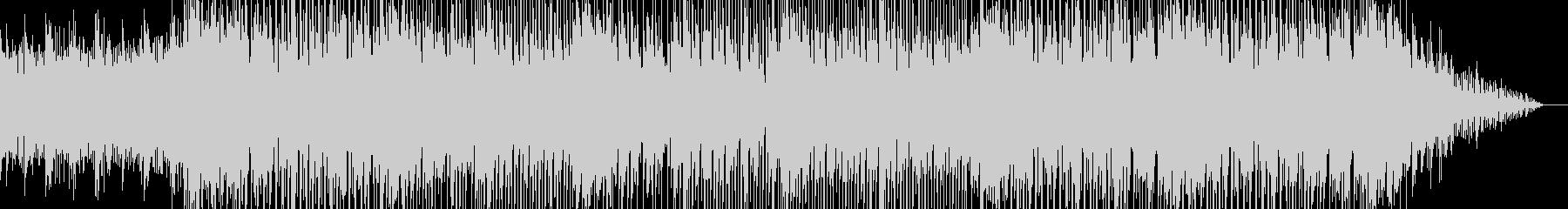 切ないメロディが印象的なBGMの未再生の波形