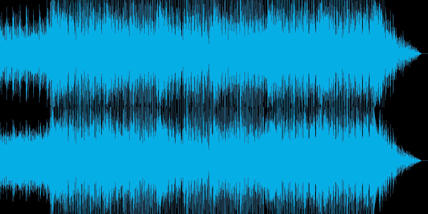 切ないメロディが印象的なBGMの再生済みの波形