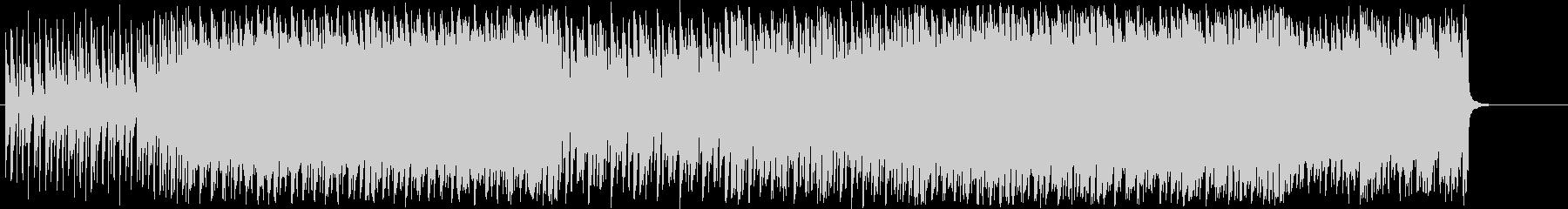 リズミカルで少しレトロなBGMの未再生の波形