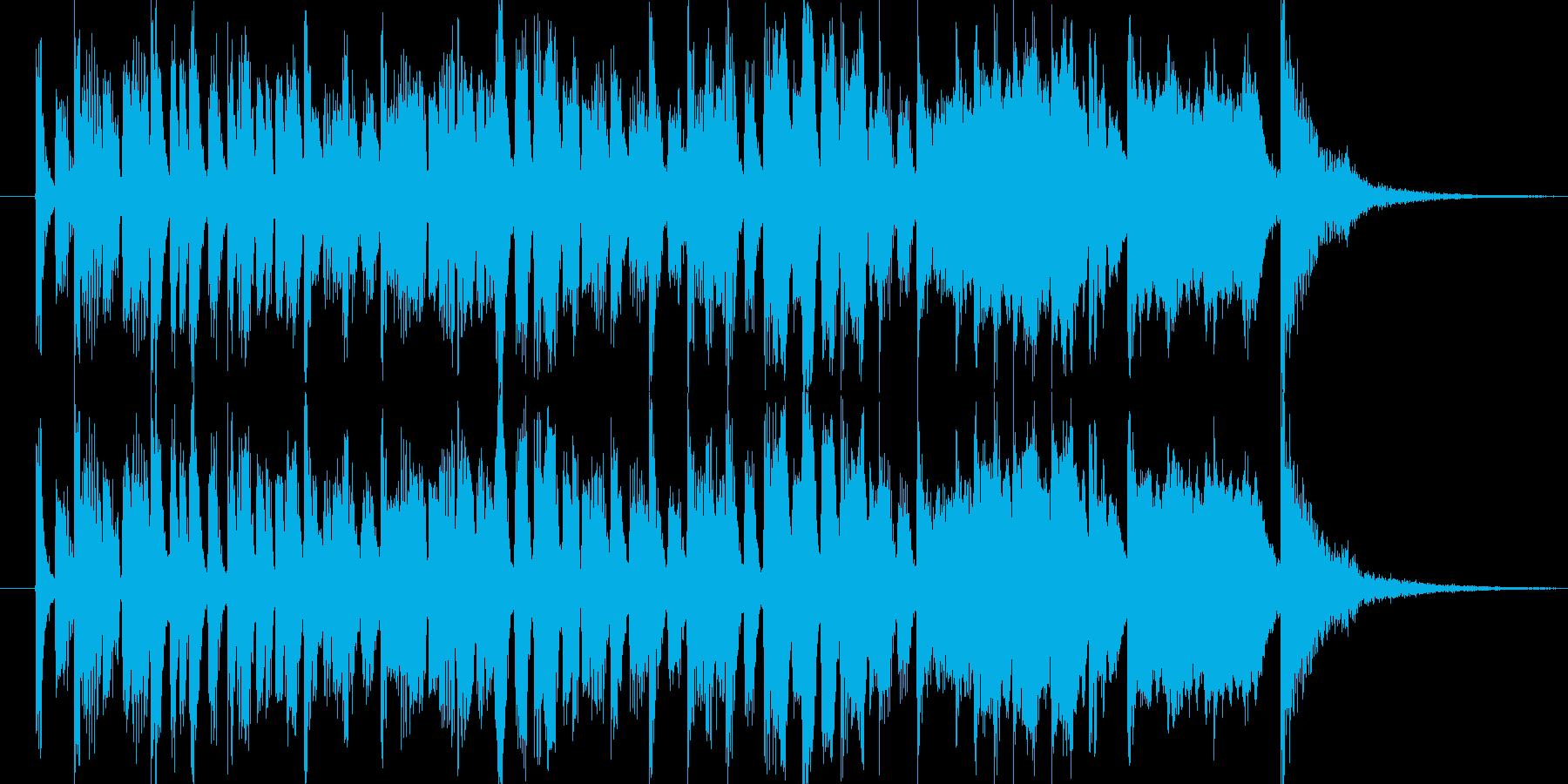 クイズに使えそうなテクノポップな曲ですの再生済みの波形