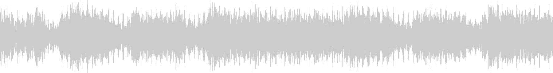 【ループD】ヘヴィーで攻撃的エレキギターの未再生の波形