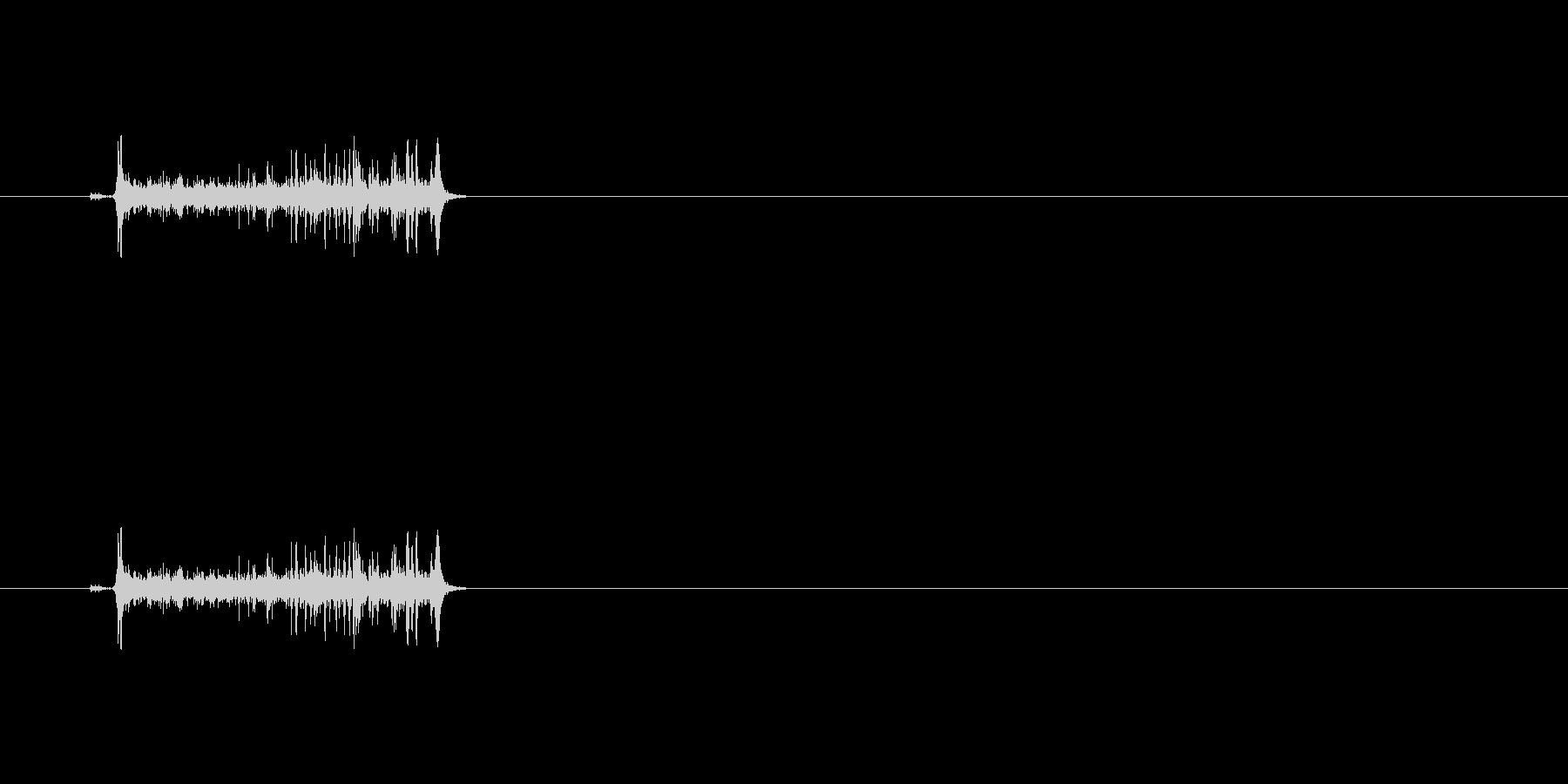 【カメラ フォーカス01-1】の未再生の波形