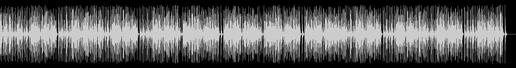 木琴がコミカルで可愛いレトロジャズ名曲の未再生の波形