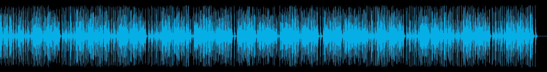 木琴がコミカルで可愛いレトロジャズ名曲の再生済みの波形