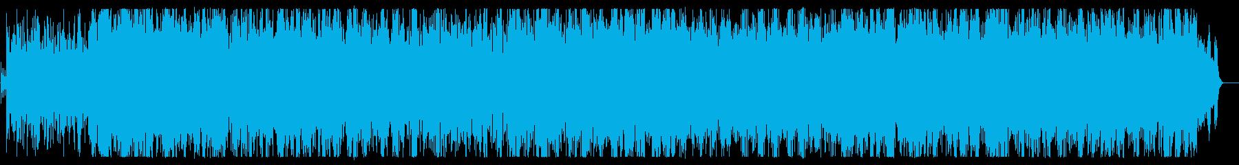 ファンタジーで明るいメロディーの再生済みの波形