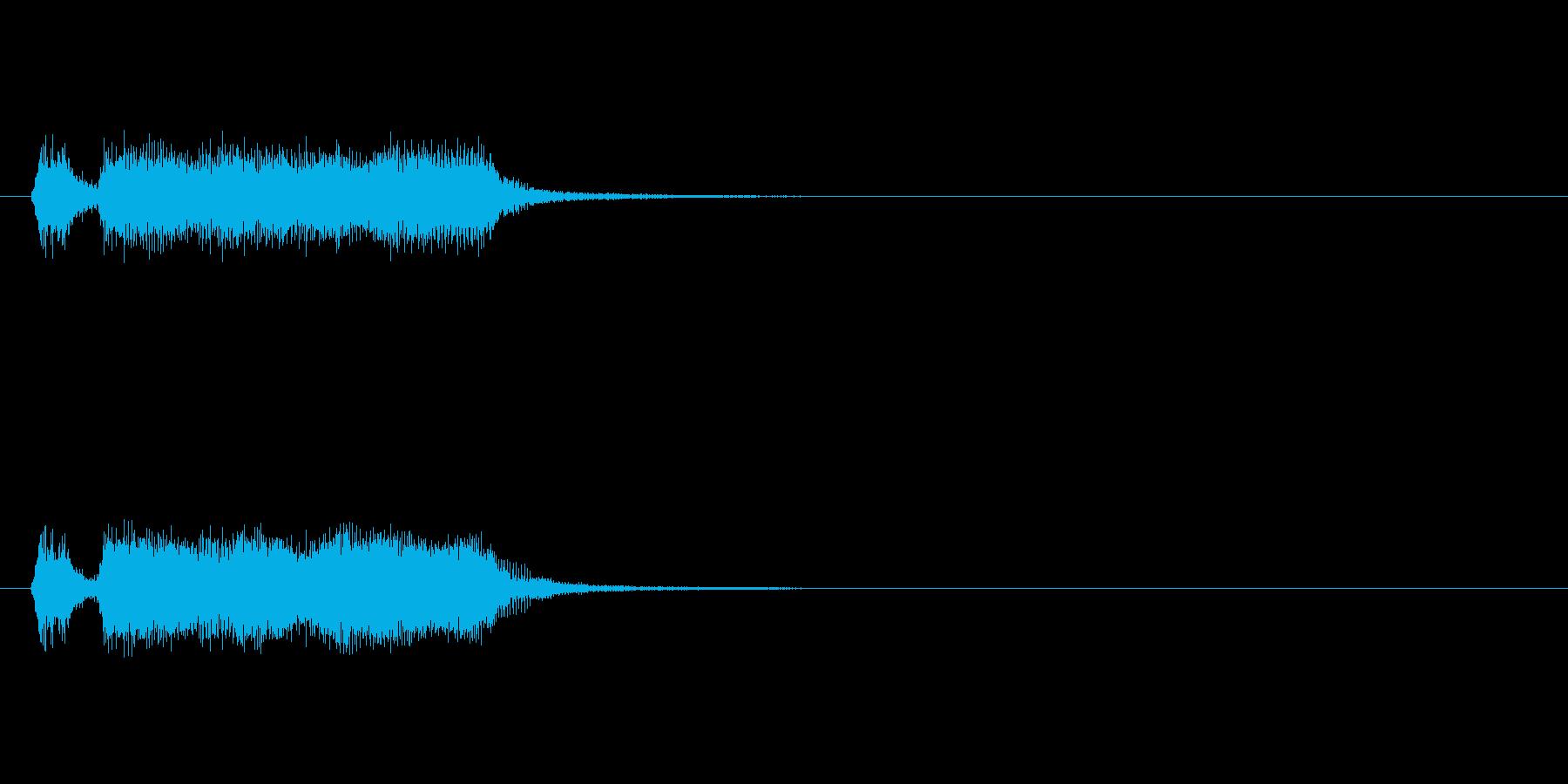 【フレーズ02-1】の再生済みの波形