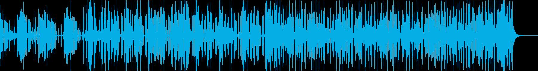 ドラマのワンシーンで流れてくるFunkの再生済みの波形