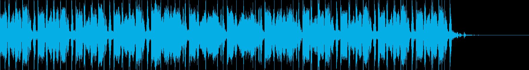重厚感のあるトランペットのジングルの再生済みの波形