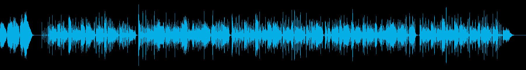 夕暮散歩をイメージしたアコーディオン曲の再生済みの波形