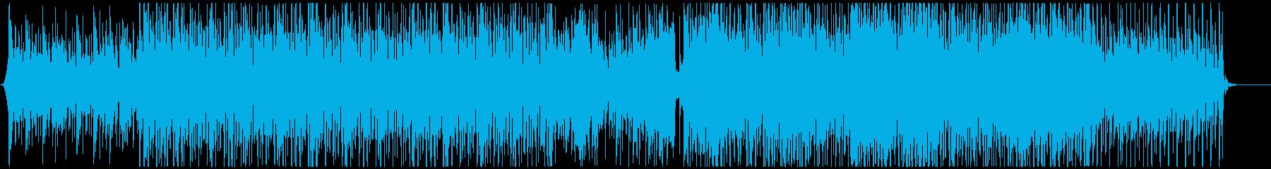 企業VPやプレゼンに元気ポジティブBGMの再生済みの波形