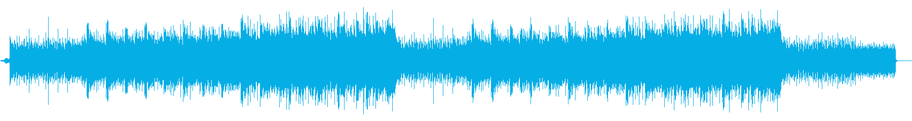 Pops that are refreshing, impressive, and gradually rise's reproduced waveform