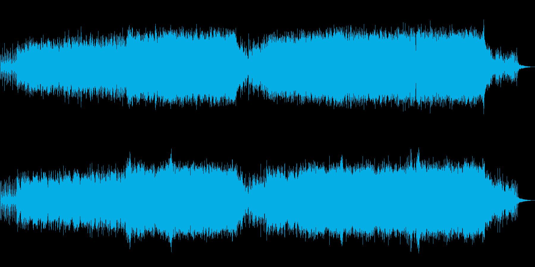 【生演奏】壮大オーケストラバラードの再生済みの波形