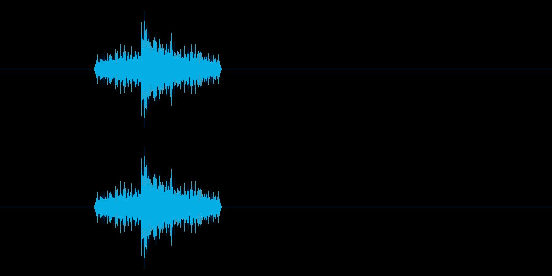 ジャン!リバースオケヒその1_音程高めの再生済みの波形